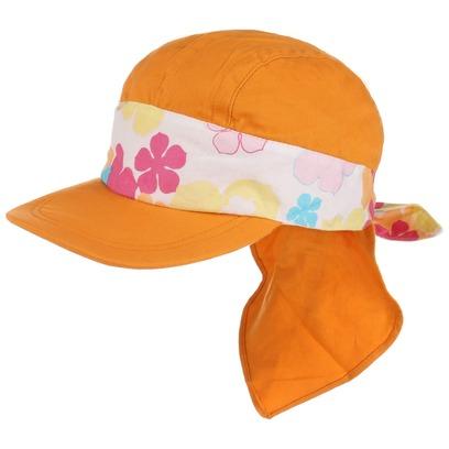 Kinder Sonnencap mit Nackenschutz Kindercap Kappe Sommercap Baumwollcap Kindermütze Sonnenmütze - Bild 1