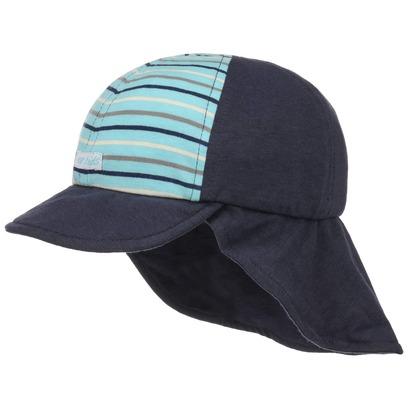 Kinder Baseballcap mit Nackenschutz Kindercap Sonnencap Baumwollcap Sommercap Strandcap Kappe - Bild 1