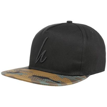 Camo Snapback Cap Basecap Baseballcap Baseballkappe Kappe Flatbrim Flat Brim Hype - Bild 1