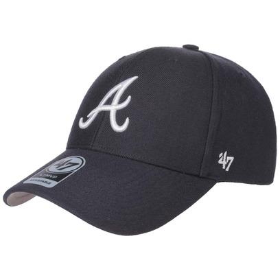 47 Brand MVP Braves Strapback Cap Basecap Baseballcap Baseballkappe Kappe Atlanta MLB - Bild 1