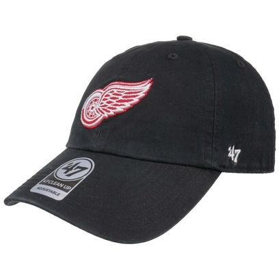 47 Brand CleanUp Red Wings Cap Basecap Baseballcap Snapback Kappe Curved Brim Detroit NHL - Bild 1