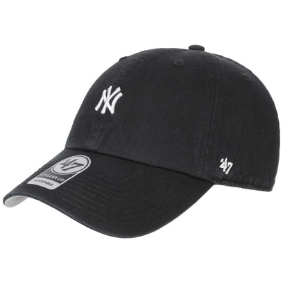 47 Brand Abate NY Yankees Strapback Cap Basecap Baseballcap Curved Brim Kappe MLB New York - Bild 1
