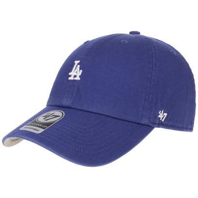 47 Brand Abate LA Dodgers Strapback Cap MLB Basecap Dad Hat Baseballcap Curved Visor Kappe - Bild 1