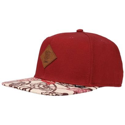 Djinns Birds 6P Strapback Cap Basecap Baseballcap Baseballkappe Kappe Baumwollcap Flat Brim - Bild 1