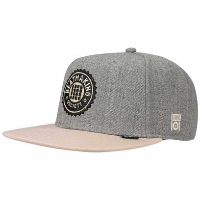 Djinns Beatmaking 101 Snapback Cap Flatbrim Flat Brim Basecap Baseballcap Kappe - Bild 1