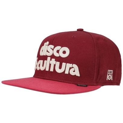 Djinns Disco e Cultura 101 Snapback Cap Flat Brim Flatbrim Basecap Baseballcap Kappe - Bild 1