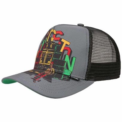 Djinns Kingston HFT 101 Trucker Cap Truckercap Meshcap Mesh Basecap Baseballcap Kappe - Bild 1