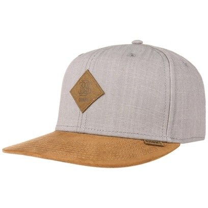 Djinns Linen 6P Snapback Cap Flat Brim Flatbrim Basecap Baseballcap Kappe - Bild 1