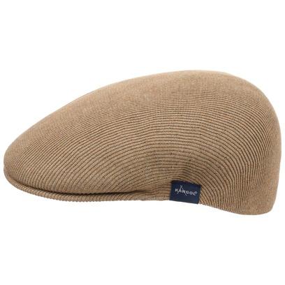 Kangol Cotton Rib 504 Flatcap Schirmmütze Schiebermütze Baumwollcap Sommermütze Mütze Cap
