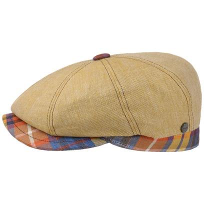 Lierys City Bic Leinen Flatcap Schirmmütze Leinencap Schiebermütze Sommercap Cap Mütze Kappe - Bild 1