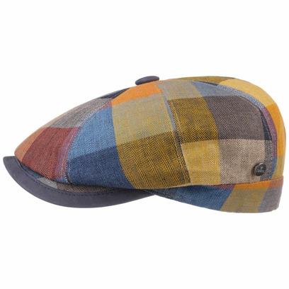 Lierys City Bic Lederschirm Flatcap Schirmmütze Ballonmütze Leinencap Sommermütze Cap Mütze - Bild 1