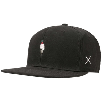 Cream Snapback Cap Basecap Baseballcap Baseballkappe Kappe Baumwollcap Flatbrim Flat Brim Wemoto - Bild 1