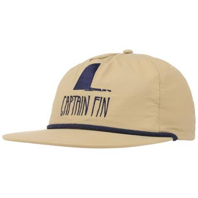 Captain Fin Shark Fin Snapback Cap Flatbrim Flat Brim Basecap Baseballcap Kappe - Bild 1