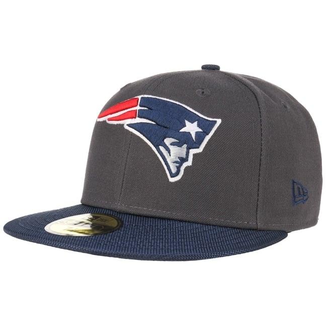 New Era 59Fifty Ballistic Visor England Patriots Cap NFL Basecap Baseballcap Kappe Fitted Sale Angebote Groß Döbbern