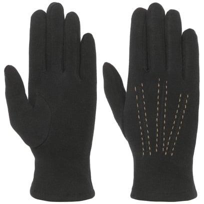 Teddy Lining Damenhandschuhe Handschuhe Fingerhandschuhe mit Fleecefutter Baumwollhandschuhe - Bild 1