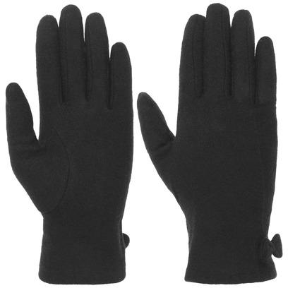 Damen Wollhandschuhe mit Schleifchen Damenhandschuhe Fingerhandschuhe Handschuhe - Bild 1