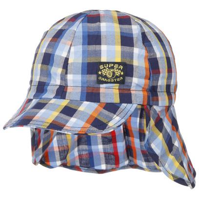 Döll Checked UV-Schutz Kindercap Sommercap Sonnencap Cap Mütze Kappe Kindermütze Strandmütze - Bild 1