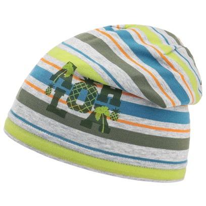 Döll Jersey Aloha Stripes Kindermütze Baumwollmütze Jerseymütze Beanie Kinderbeanie - Bild 1