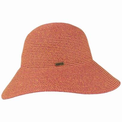 Gossamer Flapper Schlapphut Damenhut Hut Strohhut UV-Schutz Sonnenhut Strandhut Sommerhut Betmar