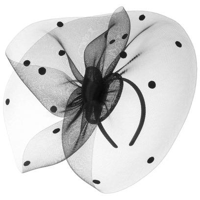 Josephina Fascinator Kopfschmuck Haarschmuck Anlasshut Damenhut Haarreif Betmar - Bild 1