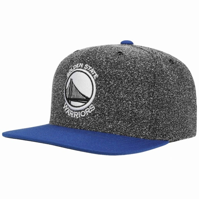Tschernitz Angebote Mitchell & Ness 2 Tone Warriors Cap Basecap Baseballcap Flatbrim Flat Brim Snapback Kappe