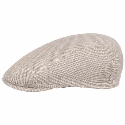 bugatti Galento Leinen Baumwolle Flatcap Cap Mütze Schirmmütze Schiebermütze Leinencap