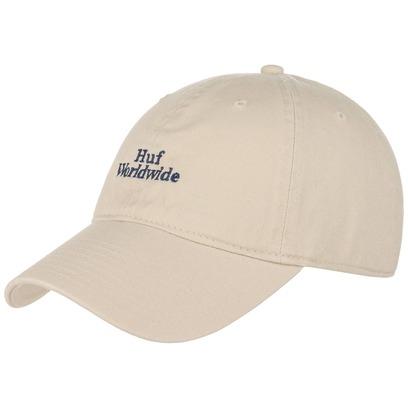 Domestic Worldwide Strapback Cap Basecap Baseballcap Kappe Baumwollcap Curved Brim HUF - Bild 1