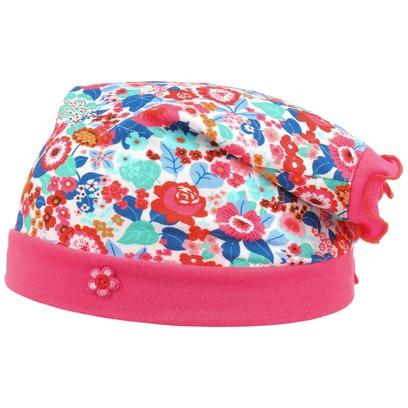 maximo Colour Flowers Kopftuch Bandana Kinderbandana Kinderkopftuch Baumwolle Sommermütze - Bild 1