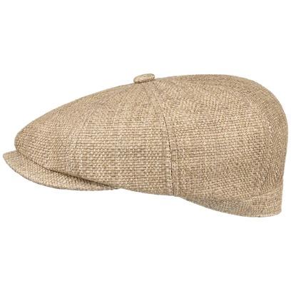 Stetson Hatteras Fine Toyo Flatcap Schirmmütze Balloncap Strohcap Sommermütze 8-Panel - Bild 1