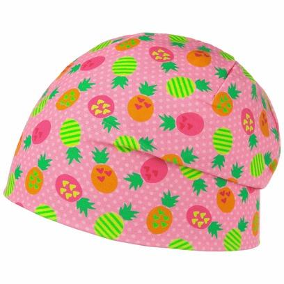 Maximo Exotic Fruits Beanie Kindermütze Kinderbeanie Sommermütze Baumwollmütze Mütze - Bild 1