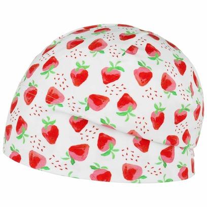 maximo Strawberry Jersey Kindermütze Beanie Baumwollmütze Kinderbeanie Sommermütze