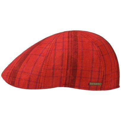 Stetson Texas Cotton Checked Flatcap Schirmmütze Sommercap Sonnencap Sommermütze Herrencap Cap Kappe - Bild 1