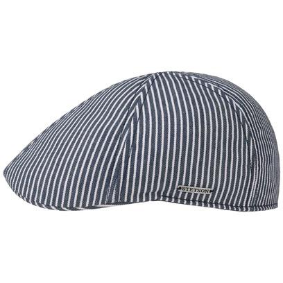 Stetson Texas Hickory Stripe Flatcap Schirmmütze Sommercap Sonnencap Sommermütze Herrencap Cap Kappe - Bild 1