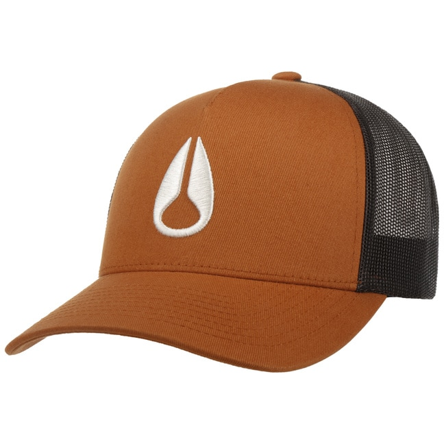 Nixon Iconed Trucker Cap Meshcap Truckercap Mes...