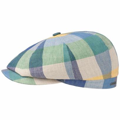 Stetson Hatteras Leinen Colour Flatcap Schirmmütze Sommercap Sonnencap Sommermütze Herrencap Cap Kap - Bild 1