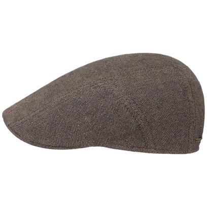 Stetson Leinen-Baumwolle Ivy Flatcap Schirmmütze Sommercap Sonnencap Sommermütze Herrencap Cap Kappe - Bild 1