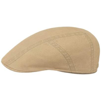 Stetson Baumwolle-Leinen Ivy Flatcap Schirmmütze Sommercap Sonnencap Sommermütze Herrencap Cap Kappe - Bild 1