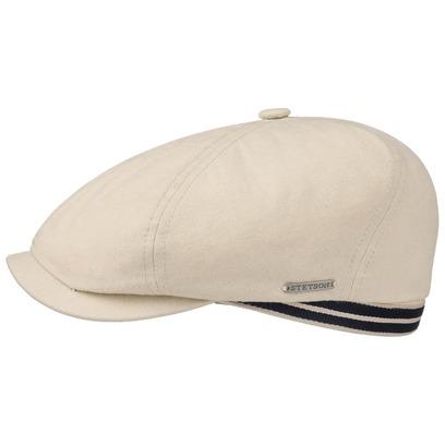 Stetson 6-Panel Canvas Flatcap Schirmmütze Baumwollcap Schiebermütze Cap Kappe Mütze mit UV-Schutz - Bild 1