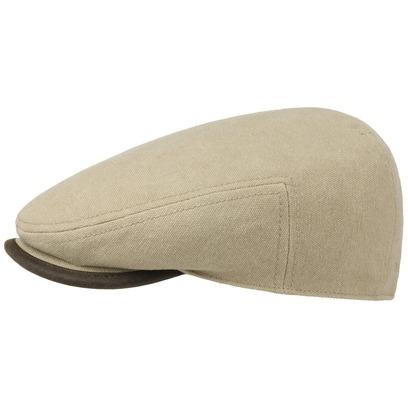 Stetson Seward Canvas Flatcap Schirmmütze Baumwollcap Sommermütze mit UV-Schutz Schiebermütze - Bild 1