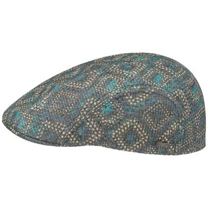 Stetson Allover Toyo Flatcap Schirmmütze Strohcap Sommercap Sonnencap Cap Kappe Mütze - Bild 1