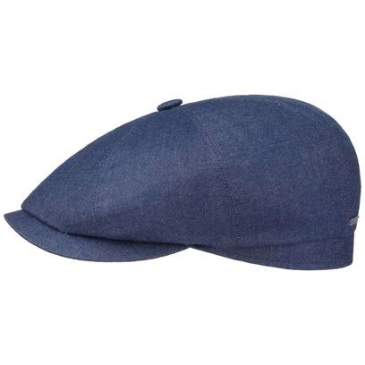 Stetson Hatteras Top Cashmere Flatcap Schirmmütze Ballonmütze Kaschmirmütze Newsboy-Cap