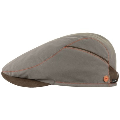 Mayser Matteo Sympatex Flatcap Schirmmütze Baumwollcap Cap Mütze Sommercap - Bild 1