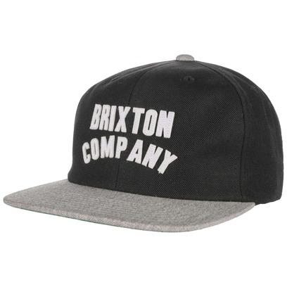 Brixton Woodburn Snapback Cap Basecap Baseballcap Baseballkappe Kappe Flat Brim Flatbrim Brixton - Bild 1