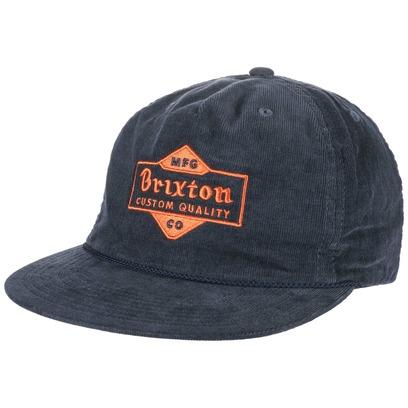 Brixton Crowich Snapback Cap Basecap Baseballcap Kappe Baseballkappe Flat Brim Flatbrim Brixton - Bild 1
