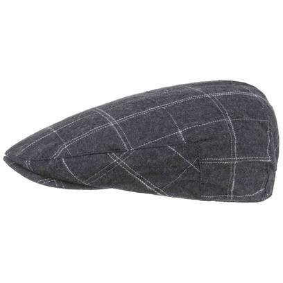 Checked Cotton Flatcap Schirmmütze Schiebermütze Sommercap Karomütze Karocap Cap Mütze - Bild 1
