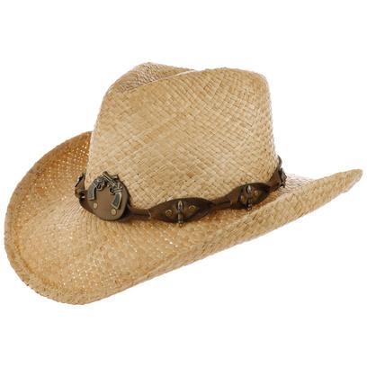 Arlington Cowboy Strohhut Sommerhut Hut Westernhut Damenhut Herrenhut Sonnenhut