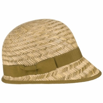Dalaja Strohcap Cap Kappe Sommercap Damencap Strandcap Strohvisor Strandmütze Damenkappe Sonnencap - Bild 1