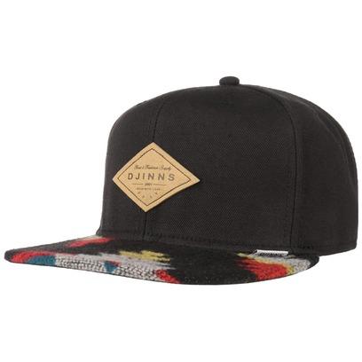 Djinns Felt Aztec 6P Snapback Cap Flatbrim Flat Brim Basecap Baseballcap Baseballkappe Kappe - Bild 1