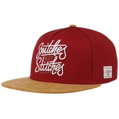 Cayler & Sons Get Stitches Snapback Cap Flatbrim Flat Brim Basecap Baseballcap Kappe - Bild 1