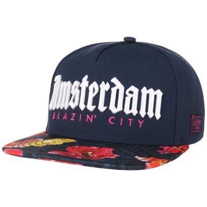 Cayler & Sons Amsterdam Snapback Cap Flat Brim Flatbrim Basecap Baseballcap Kappe - Bild 1